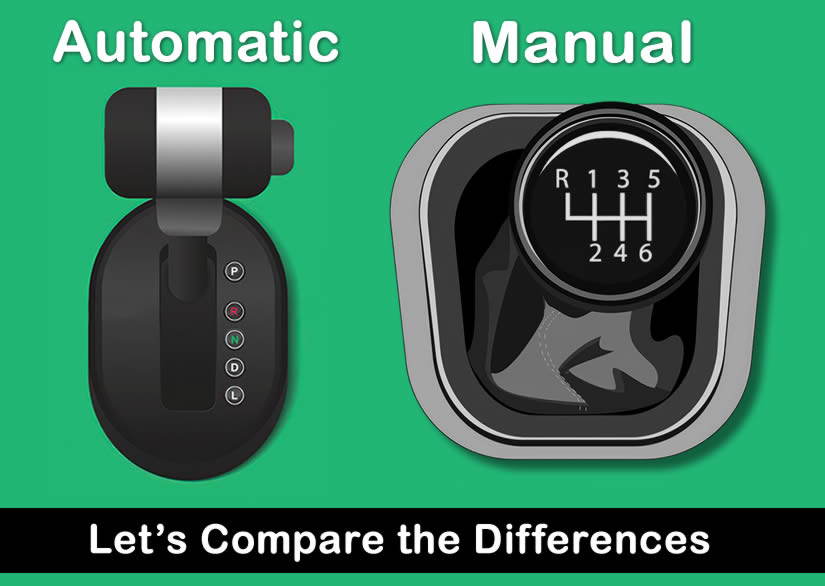 Difference Between Automatic and Manual Car