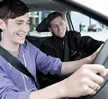 Rules for who can sit next to a learner driver