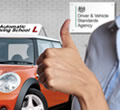 Here we explain if you can pass the driving test in an automatic car